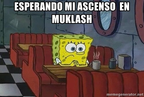 Coffee shop spongebob - Esperando mi ascenso  en muklash