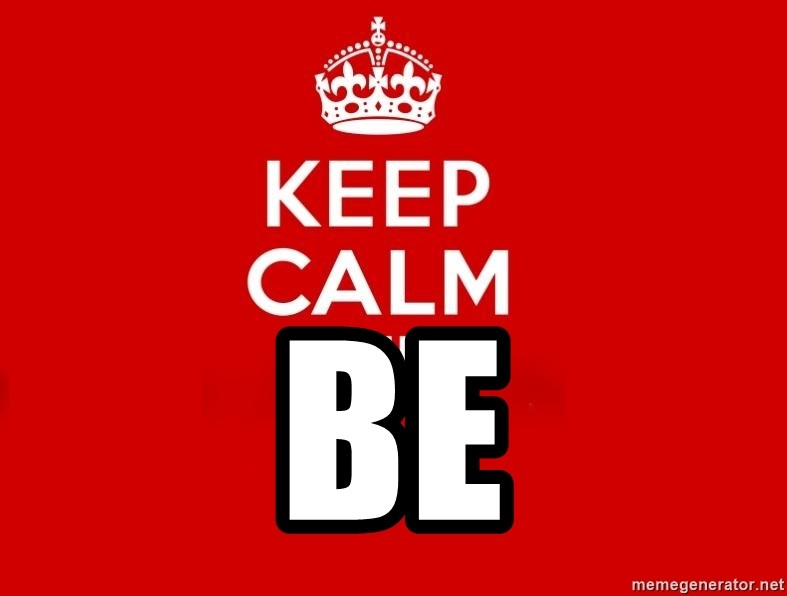 Keep Calm 2 -  BE