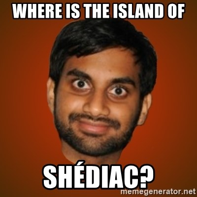 Generic Indian Guy - Where is the island of Shédiac?