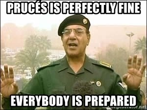 Baghdad Bob - PRUCÉS IS perfectly fine Everybody is prepared