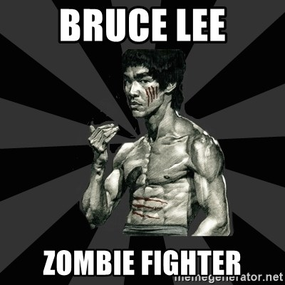Bruce Lee Figther - bruce lee zombie fighter