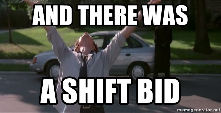 And There Was A Shift Bid Firefight Meme Generator