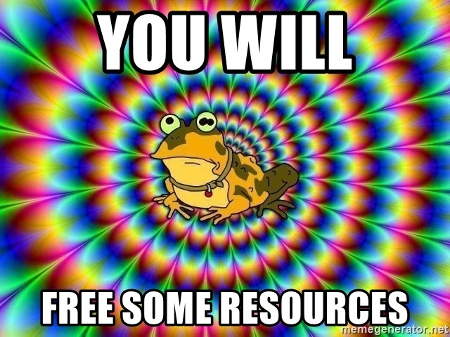 hypno toad - You Will FREE SOME RESOURCES