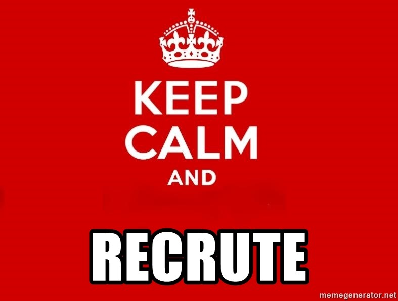 Keep Calm 2 -  recrute