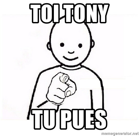 GUESS WHO YOU - TOI TONY tu pues