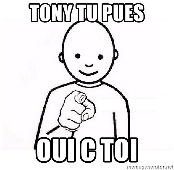 GUESS WHO YOU - tony tu pues OUI C TOI