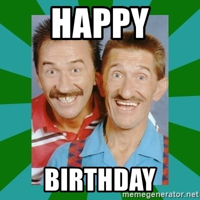 chuckle brothers - happy birthday
