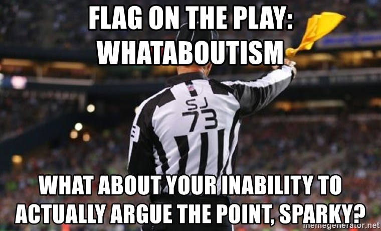 Image result for whataboutism meme