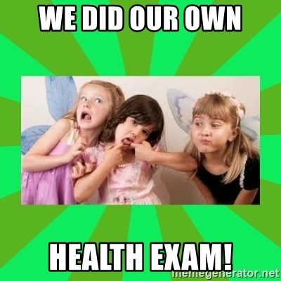 CARO EMERALD, WALDECK AND MISS 600 - We did our own  health exam!