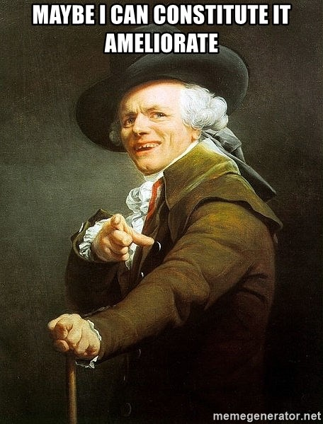 Ducreux - Maybe I can constitute it ameliorate