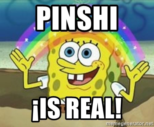 Bob esponja imaginacion - Pinshi  ¡is real!