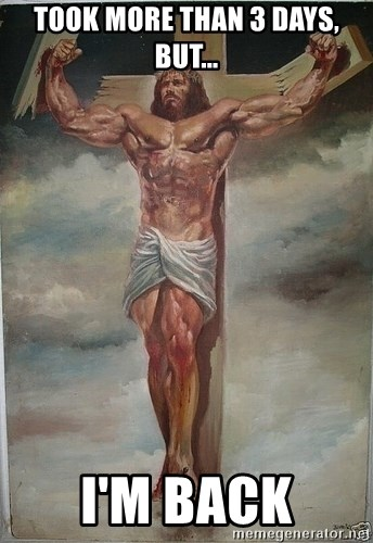 Muscles Jesus - took more than 3 days, but... i'm back