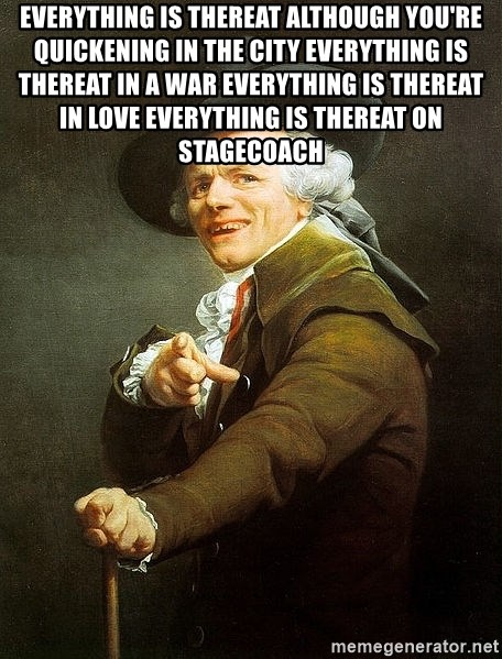 Ducreux - Everything is thereat although you're quickening in the city