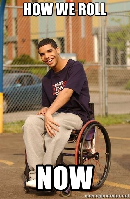 Drake Wheelchair - how we roll now
