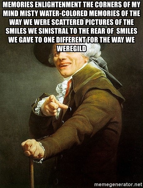 Ducreux - Memories enlightenment the corners of my mind