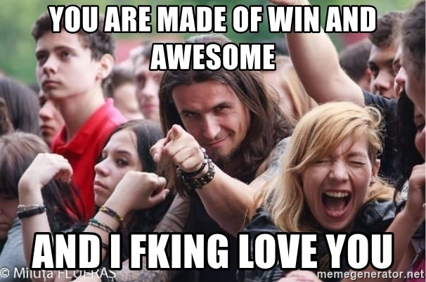 Ridiculously Photogenic Metalhead Guy - You are made Of Win and Awesome And I Fking Love you