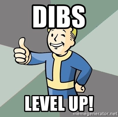 Fallout Boy - DIBS LEVEL UP!