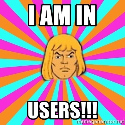 He-Man - I AM IN  USERS!!!