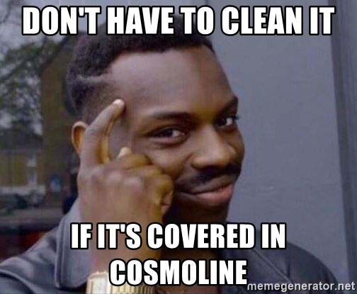 don t have to clean it if it s covered in cosmoline roll safe 2