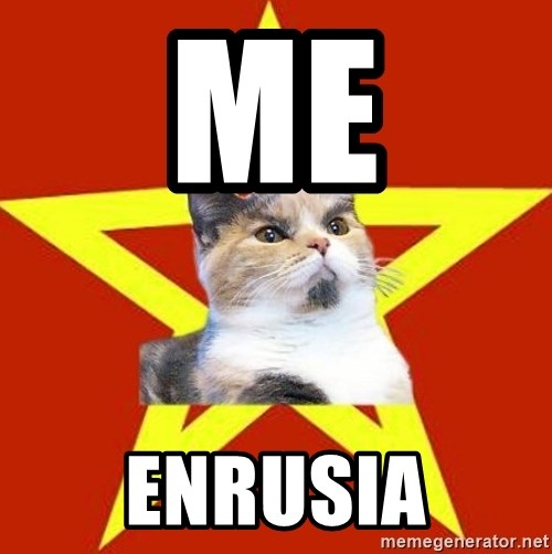 Lenin Cat Red - Me EnRusia