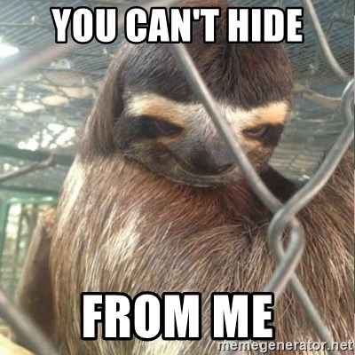 Creepy Sloth Rape - You can't hide from me