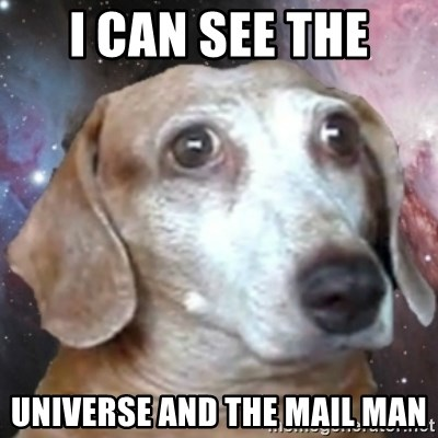 tristolla  - i can see the universe and the mail man