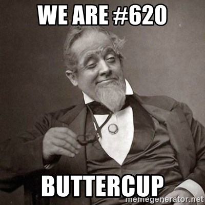 1889 [10] guy - WE are #620 Buttercup