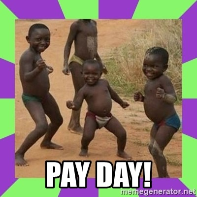 african kids dancing - Pay day!