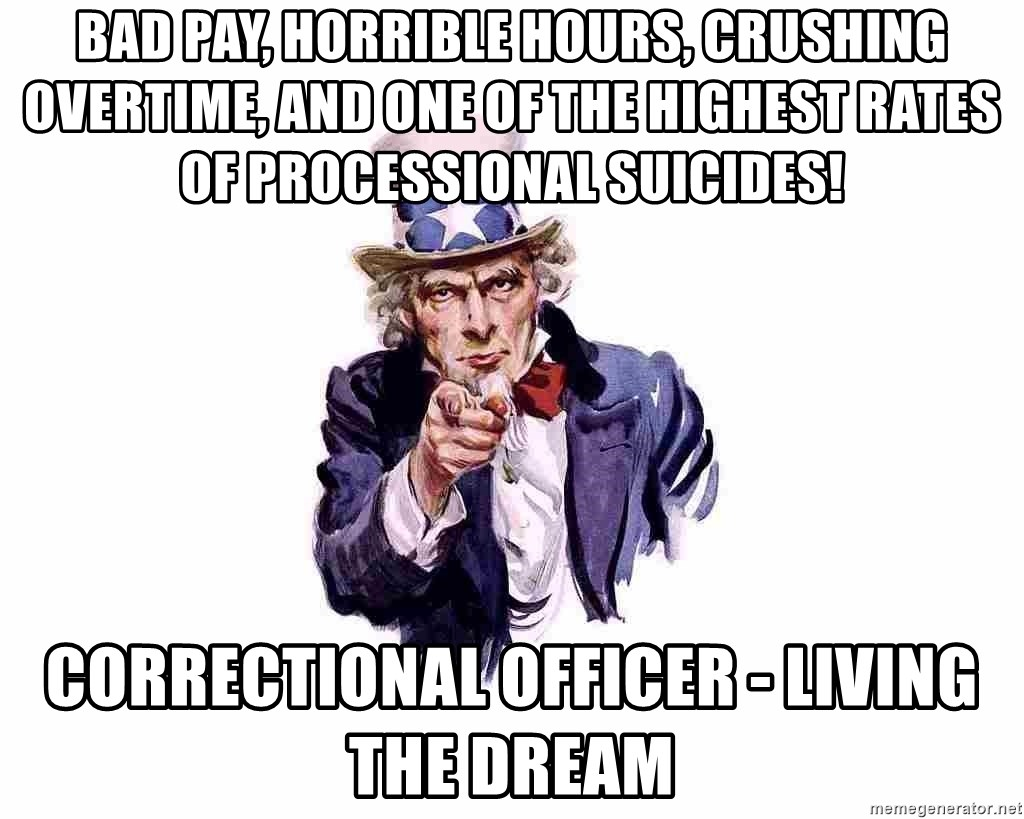 bad pay horrible hours crushing overtime and one of the highest