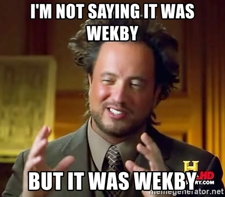Ancient Aliens - I'm not saying it was Wekby But it was Wekby
