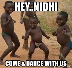 african children dancing - HEY..NIDHI Come & Dance with us