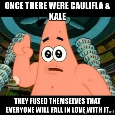 ugly barnacle patrick - Once there were Caulifla & Kale they fused themselves that everyone will fall in love with it