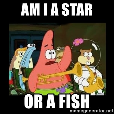 Patrick Star Instrument - Am i a star or a fish