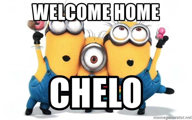 Celebrate Minions - Welcome Home Chelo
