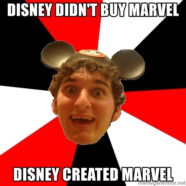 Disney Nerd - disney didn't buy marvel disney created marvel