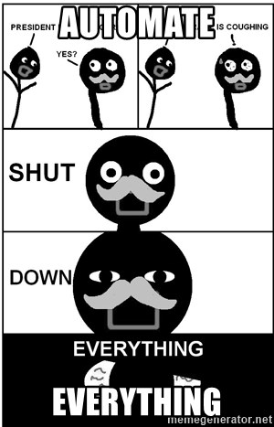Shut Down Everything - Automate Everything