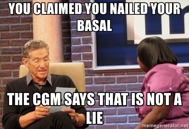 Maury Lie Detector - You claimed you nailed your basal the CGM says that is not a lie