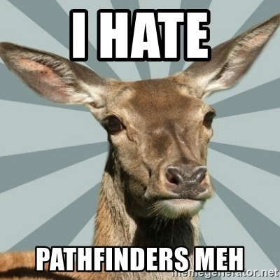 Comox Valley Deer - i hate pathfinders meh