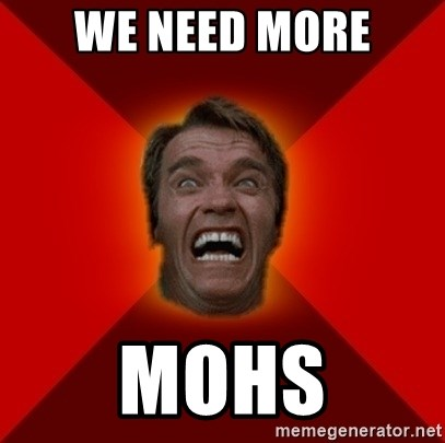 Angry Arnold - We need more MOHS