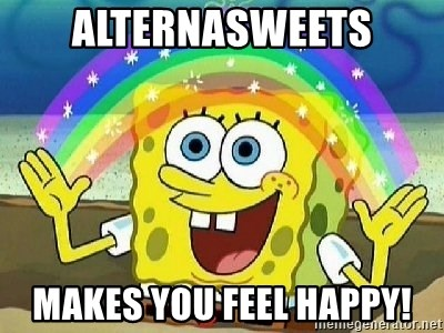 Imagination - AlternaSweets makes you feel happy!