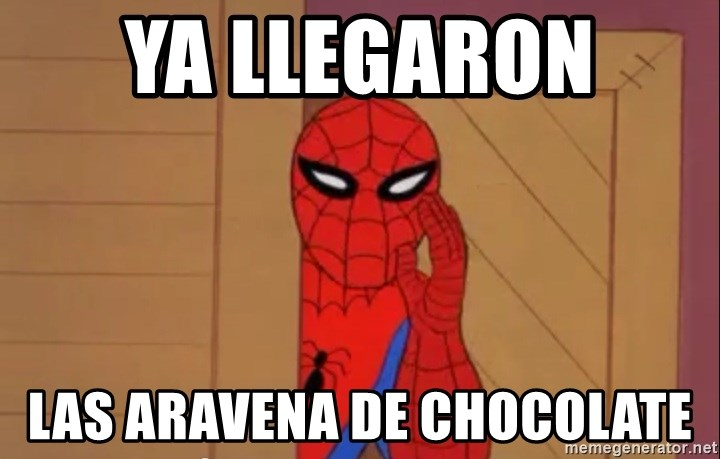 Spidermanwhisper - Ya llegaron  las aravena de chocolate