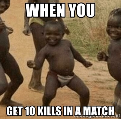 Success African Kid - When you Get 10 kills in a match