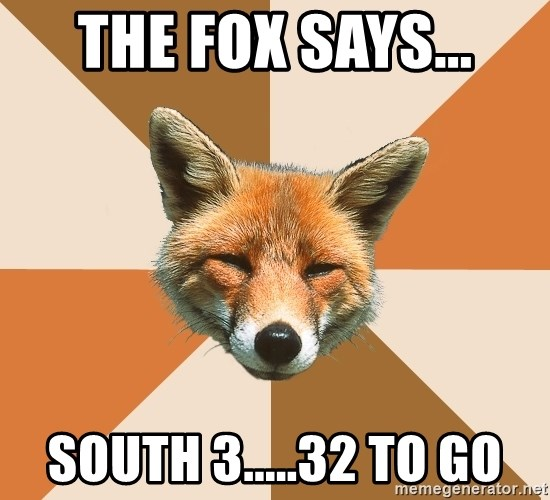 Condescending Fox - THE FOX SAYS... SOUTH 3.....32 TO GO