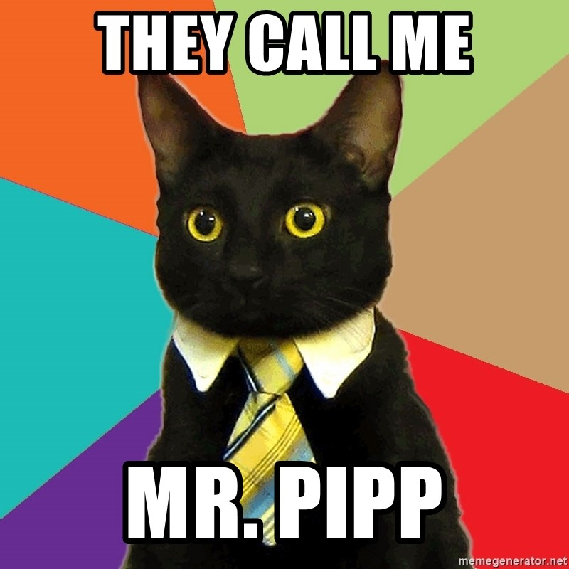 Business Cat - They call me Mr. Pipp
