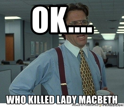 who killed lady macbeth