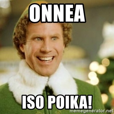 Buddy the Elf - Onnea Iso poika!