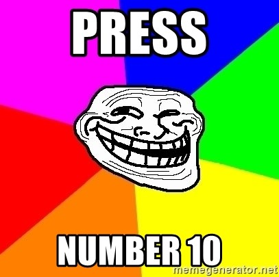 Trollface - PRESS NUMBER 10