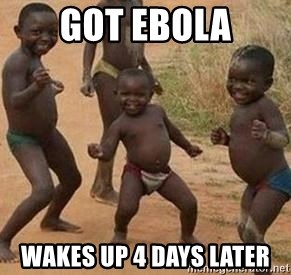 african children dancing - Got ebola wakes up 4 days later