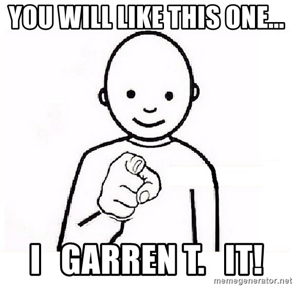 GUESS WHO YOU - You will like this one... I   garren T.   it!