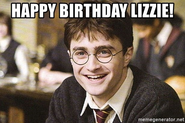 Happy Birthday Lizzie